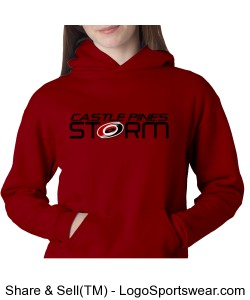 Champion  Heavyweight Youth Pullover Hood Design Zoom